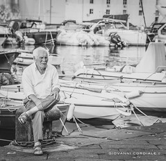 The Old Man (Giovanni Cordiale ) Tags: nikon flickr followme photo passion black white sea old man d750 24120 fantastic quality addlike water effect tags italy elitephotography eyeofphotographer endsummer expressive lazio gaeta quiet beauty best natural new magic lightroom
