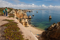 Algarve - Lagos - Ponta da Piedade (Joao de Barros) Tags: barros joão portugal algarve lagos beach seascape people summertime cliff