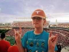 Hook 'em {37/52} (therealjoeo) Tags: texas longhorns football stadium tower fan game hookem week37theme week372016 52weeksthe2016edition weekstartingfridayseptember92016