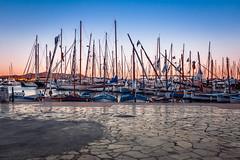 Port de Sanary sur Mer (sebastienloppin) Tags: canon 60d sanary mer sea holiday vacances blue orange sky boat port landscape dreamscape 1855