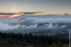 Auf dem Feldberg / On the Feldberg - Hessen - Germany (Marc Wildenhof) Tags: sonnenuntergang clouds groserfeldberg feldberg hessen germany taunus deutschland canoneos7dmarkii sigma35mm14art
