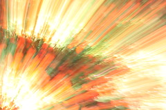 ICM + zoom abstract: flower garden with sunny patches (Jon Dev) Tags: intentionalcameramovement icm radial