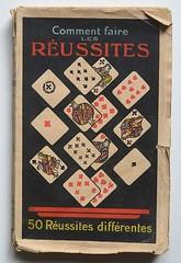 P.H.Morand: Comment faire les russites (alexisorloff) Tags: livres books manuels couverturesillustres vintagecovers alexisorloff alexisorloff jeux jeuxdecartes russites phmorand cartes