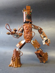 I am Groot (monsterbrick) Tags: monsters marvelous mixel masterpeice collection series 2 marvel groot moc lego