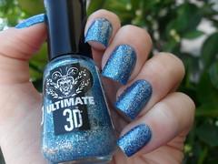 Drica - Oceano + Top Beauty - Aurora Boreal (Barbara Nichols (Babi)) Tags: drica topbeauty auroraboreal azul blue bluenailpolish glitter 3d nails mos unhas nailpolish