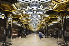(ilConte) Tags: botanicheskaya ekaterinburg yekaterinburg architettura architecture architektur russia metro station ziganshin veselovsky
