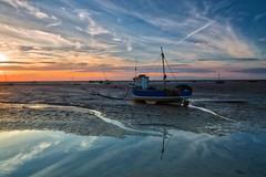 Meols boats 2 - 290816 (simonknightphotography) Tags: meols hoylake wirral cheshire mersey merseyside sea sunset clouds fishing sailing boats yachts seascape