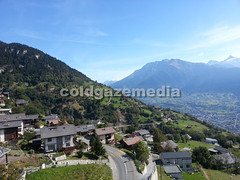 20150927_112222 (coldgazemedia) Tags: photobank stockphoto scenery schweiz switzerland swissvillage swissalps landscape brig birgish mund alps mountain swisshuts alpine alpinehut bluesky blue meadow panorama