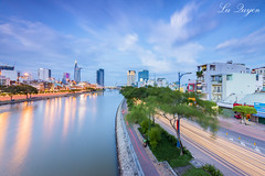 Hong hn Saigon (L Quyn   01239.369.779  ) Tags: nikon d750 cityscape skyline landscape sunset hochiminh city h ch minh viet nam si gn saigon