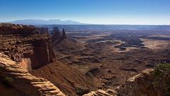 Mesa Arch View (Clmapicture) Tags: landscape desert canoneos550d mesaarch canyon moab
