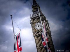 Big Ben, Westminster, London - 17/05/16 (hywelevans1) Tags: london bigben clock england uk westminster building weather britian britain gb atmosphere thames city trafalgar square
