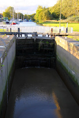 Northern England #0096 Widnes 140911 St Helens Canal Lock (Steveox55) Tags: canal lock merseyside widnes spikeisland