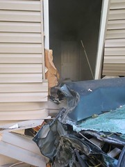 Vehicle into a house in Hebron (LeafsHockeyFan) Tags: mvc onscene vehicleaccident firedept fireengine fireapparatus fire rescue station5 the5house hebron maryland wicomicocounty hebronfiredept ems ambulance statepolice statetrooper msp marylandstatepolice police policecar