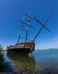 Old Sail Boat at Jordan Harbour (RandyFinch) Tags: jordanharbour oldsailboat ontario canada