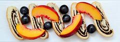 Mohnkuchen mit Frchten (wuestenigel) Tags: kuchen mehl essen nektarinen zucker frhcte mohnsamen weintrauben torte gebck mohnkuchen ssigkeiten