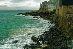 ON THE EDGE (skysthelimit333) Tags: stives cornwall cornishcoast coast coastal
