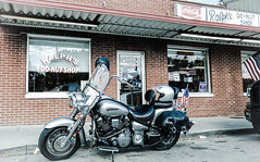 Motorcycles & Do-nuts (J.L. Ramsaur Photography) Tags: jlrphotography lgg4 lg g4 photography photo cookevilletn middletennessee putnamcounty tennessee 2016 engineerswithcameras cumberlandplateau photographyforgod thesouth southernphotography screamofthephotographer ibeauty jlramsaurphotography photograph pic cookevegas cookeville tennesseephotographer cookevilletennessee motorcycle yamaharoadstar yamaha roadstar cruiser ralphsdonutshop ralphsdonuts donuts donutshop bestdonutsever sign signage itsasign signssigns iloveoldsigns oldsignage vintagesign retrosign oldsign vintagesignage retrosignage faded fadedsignage fadedsign iseeasign signcity cocacola cokebottle cocacolabottle coke cocacolabottlingworks cocacolascript drinkcocacola rural ruralamerica ruraltennessee ruralview oldbuildings structuresofthesouth smalltownamerica americana americanflag usflag redwhiteblue oldglory