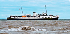 white funnel line (midcheshireman) Tags: ship boat ferry balmoral sea river riverdee dee cheshire marine maritime