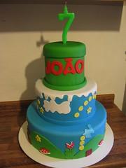 Bolo Mario Bros (Confetti & Cupcakes) Tags: cake bar spider cupcakes high mini confetti evento beb bolo casamento convite festa aniversrio ch aranha marmita drika homen monter personalizados novaes gostosos decorados
