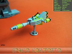 Lego Micro Space Corvette (SFRIP) Tags: lego space micro microspacetopia