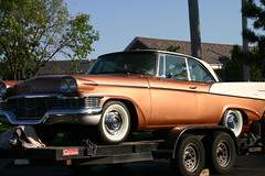 1958 Studebaker Commander (niureitman) Tags: slr car digital canon illinois automobile 1958 studebaker dslr commander 2012 eosrebel skokie canondigitaleosrebel skokieillinois