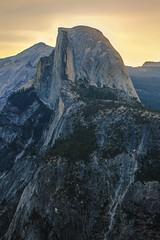 Half Dome from Glacier Point (cpleblow) Tags: california sunrise landscape photography nationalpark photographer scenic halfdome whatever hdr yosemitevalley iconiclandmarks eos5dmkii cplphoto eos70200f28lisusmii cpleblowtumblrcom cpleblowphotography