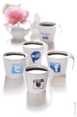Follow ME (Fahad Al-Robah) Tags: up follow cups logos ask sites facebook accounts twitter          instaqram