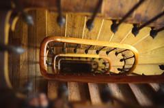 (thisisforlovers) Tags: city paris france stairs photography 50mm nikon f18 escaleras d7000