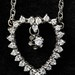 4016. Diamond Heart Pendant and Chain