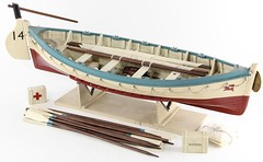 3028. White Star Life Boat Model