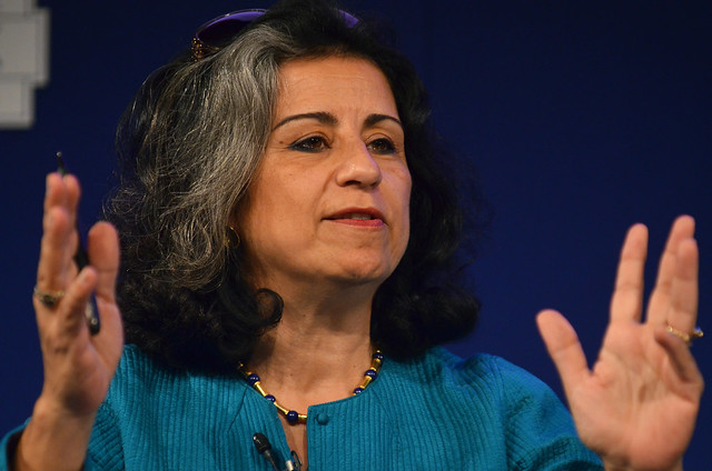 Ahdaf Soueif at the Edinburgh World Writers' Conference