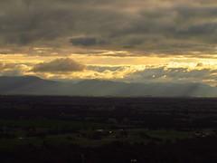 Grampians and Clouds (florahaggis) Tags: sunset sky sunlight clouds sunrise nationalpark australia grampians victoria lookout hills storms ararat
