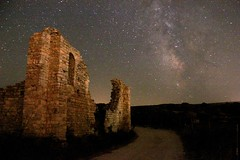 Night Calm (mola_zg) Tags: sky night ruins croatia hrvatska benedictinemonastery bra postira abigfave mirje