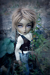 Baron Samedi (Queen Carcharias  Libuse) Tags: pink brown strange dark fur gold eyes doll king acrylic skin special wig pullip another limited edition tone custo mohar taeyang