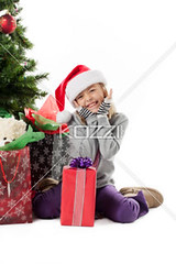 smiling elementary girl with her christmas gift (ericphotos8877) Tags: christmas portrait cute girl smiling festival female season photography holding december sitting joy fulllength adorable happiness wrapped celebration indoors event whitebackground gift blonde surprise innocence ribbon studioshot cheerful blondehair kneeling excitement santahat casualwear oneperson caucasian lifestyles headwear christmasgift wrappingpaper individuality giftbox headgear toothysmile exited casualclothing colorimage lookingatcamera handonchin childrenonly onegirlonly elementaryage expressingpositivity 78years publiccelebratoryevent