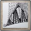 southwest (shebicycles) Tags: monochrome pen pencil tile square doodle ensemble zentangle