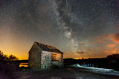 Milky Way over Corrib (CONOR LEDWITH) Tags: galway shower lough corrib meteor headford perseids