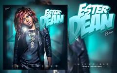 Ester Dean - Invincible (Solo Version) (Fanmade Single Cover) (Eren Bora Designs (E.B)) Tags: coverart version fanart cover solo albumcover albumart invincible singlecover ebdesigns esterdean erenbora