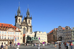 Old town of Prague (sunny sunday) Tags: canon 24105l