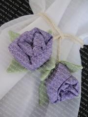 Prendedor para Cortina - Rosas (Golla & Zolla) Tags: cortina flor fuxico patchwork tulipa prendedor floresdetecido tulipadetecido prendedoresparacortina