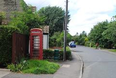 Little Thetford, Main Street pic2 (Rob redphonebox.info) Tags: red booth call phone box telephone british kiosk bt k6 telecom