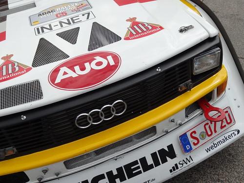 ADAC Rallye Deutschland 2012 387 Arena Panzerplatte - Historic Marathon