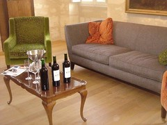 Chateau Kirwan, the most relaxed tasting room in Bordeaux