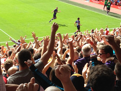 Liverpool (Luguber) Tags: urban liverpool away arsenal cazorla anfieldroad luguber