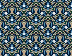 Ahiar Seamless Arab Pattern (azat1976) Tags: old flower detail texture floral wall architecture tile leaf colorful pattern floor mosaic decorative islam traditional decoration craft architectural arabic aged ornate decor seamless islamic decorated tiled illustrationandpainting walltile