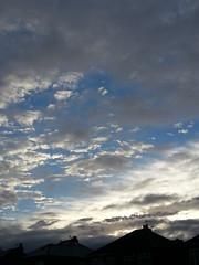 Undecided (spikeybwoy - Chris Kemp) Tags: blue sky cloud silhouette sunrise grey dawn darlington