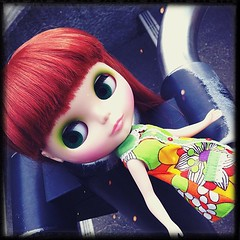 her face is friendly freckles. #blythe