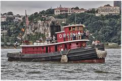 The Pegasus (Linda O'Donnell) Tags: newyorkcity newyork clouds boat tugboat hudsonriver hdr tugboatrace pier84 lindaodonnell lindanjo6