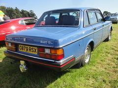 1985 Volvo 240 GL (GoldScotland71) Tags: volvo 1980s 1985 240 gl c879rsx
