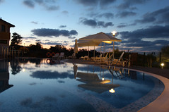 In the Evening (Been Around) Tags: beach pool hotel europa europe eu september bulgaria blacksea 2012 bul bulgarien lozenets chernomore  schwarzesmeer tsarevo  concordians worldtrekker expressyourselfaward hotellalovegrek